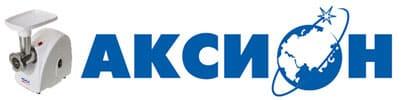 Мясорубки Аксион логотип