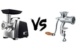 Механическая или электрическая мясорубка. Как выбрать?